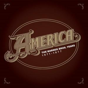 AMERICA - The Warner Bros Years CD Artwork